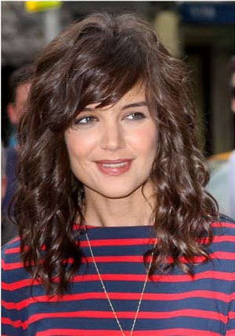 bangs with long ccurly hair curly hairstyles with fringe
