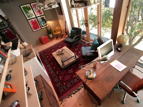 Decorating A Small Home Office by Rainn Wilson S Home Office Man Cave Man Caves Diy