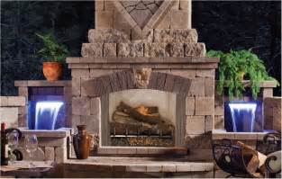 Backyard Fireplace Fmi Products Outdoor Fireplace Venetian Emberwest