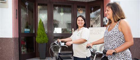 bett und bike bodensee fahrradpension boppard bei koblenz bett bike