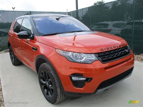 orange land rover discovery 2017 orange land rover discovery sport hse