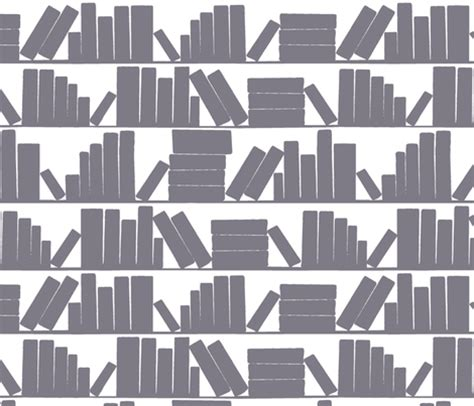 pattern library background library book shelves white background fabric amy g