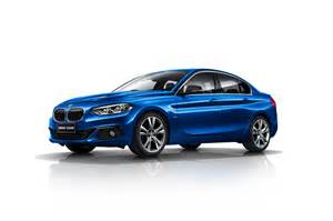 Bmw 1series Bmw 1 Series Sedan To Remain A Only Affair For Now
