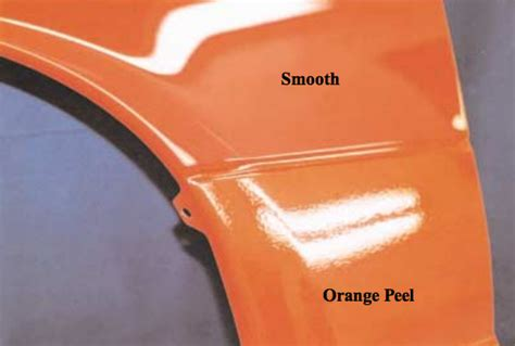 what is orange peel and how do you fix it