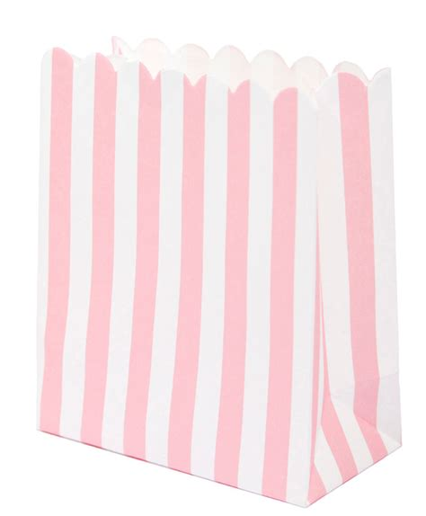 Sweet Bag pink stripe sweet and treat bags by talking tables mix bag pk karnival costumes