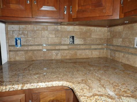 stone subway tile backsplash tumbled travertine backsplash for the home pinterest
