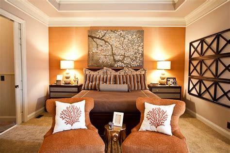 burnt orange bedroom ideas bedroom with burnt orange accent wall chairs eric