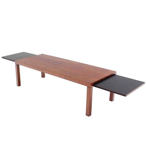 Expandable Coffee Tables Mid Century Modern Expandable Walnut Coffee Table By Directional For Sale At 1stdibs