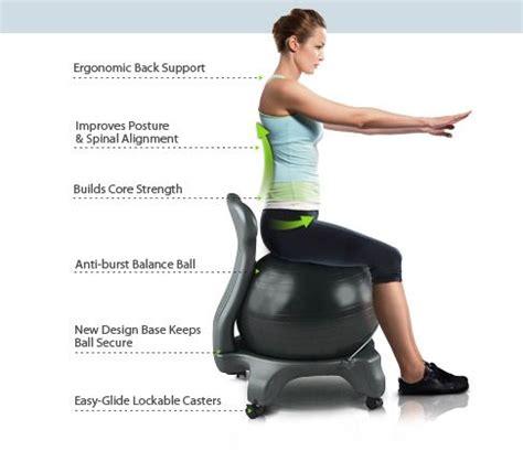 fitball come sedia sedia fitball abbiamo provato la sedia da ufficio con