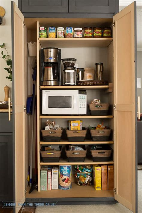Creating A Pantry by How To Create A Coffee Station Within A Small Pantry