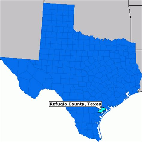 refugio texas map refugio county texas county information epodunk
