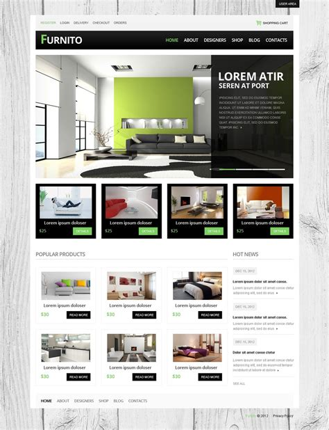 themes drupal download furnito free drupal theme freedownload web design