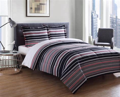 essential home mini comforter set cambridge stripe