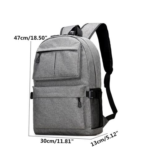 Backpack Laptop Bag Travel With Usb Port D8205w 17 3 Inch Olb1868 waterproof laptop backpack travel bag with usb charging port us 32 20