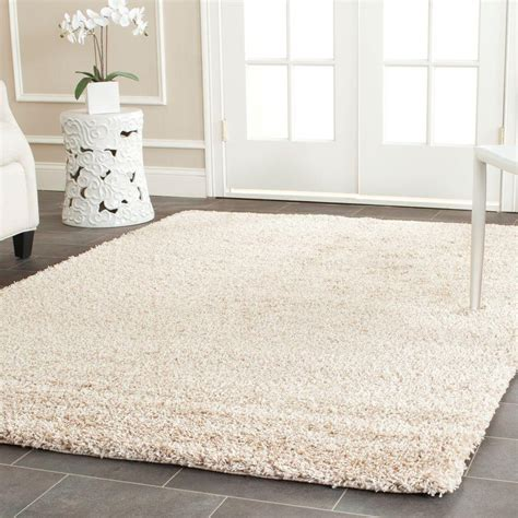 Safavieh California Shag Beige 8 Ft 6 In X 12 Ft Area 6 Foot Area Rugs