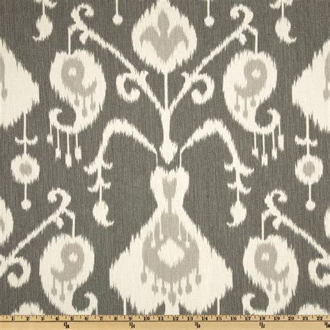 wholesale home decor fabric magnolia home fashions java ikat pewter discount