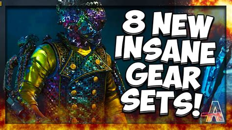 Gear Set R New 1 quot 8 new gear sets quot cod aw new gear sets