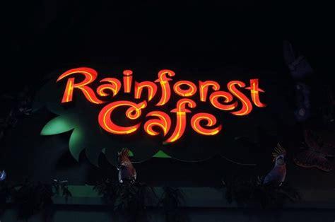 rainforest cafe light up cup rainforest cafe light up sign picture of rainforest