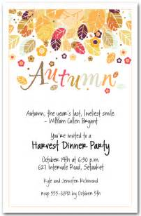 fall invitations theruntime