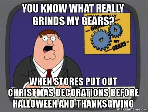 you know what really grinds my gears when stores put out