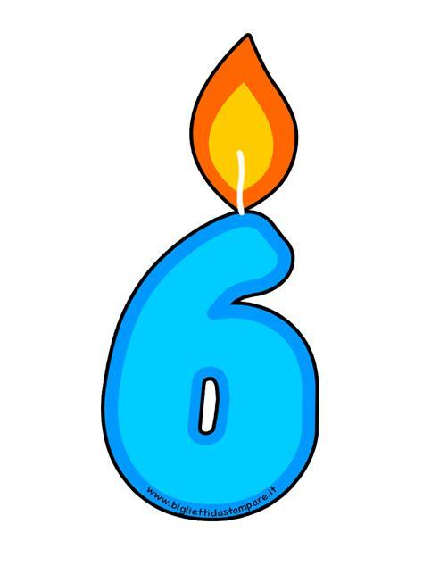 candela compleanno candela compleanno 6 anni bigliettidastare it