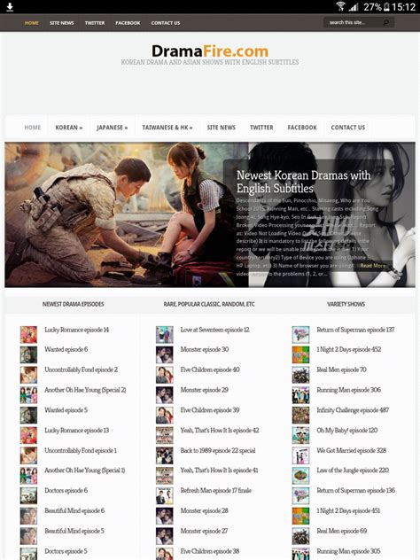 dramacool uncontrollably fond rekomendasi situs nonton drama korea sub indo eng