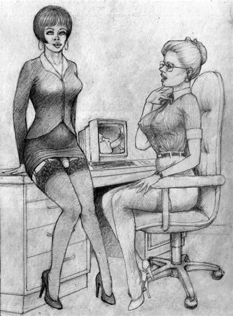 Devina Cox S World Of Femdomination Vintage Sissy Art Vol