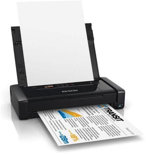 Review Epson Small A4 Printer Workforce Wf 100