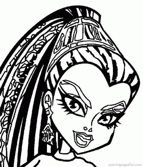 monster high sign coloring pages monster high coloring pages coloring home