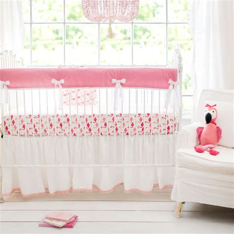 Flamingo Crib Bedding Flamingo Baby Nursery Thenurseries