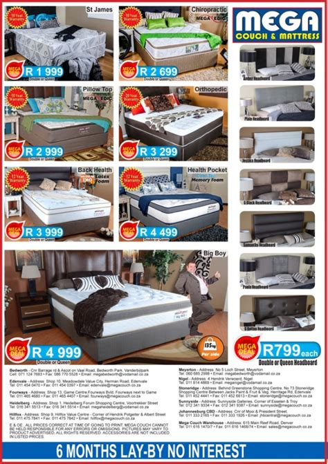 mega couch mega couch mattress johannesburg south africa