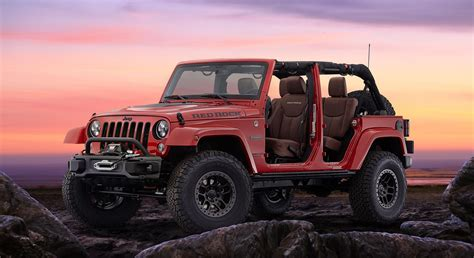 jeep red 2015 2015 jeep wrangler red rock concept conceptcarz com