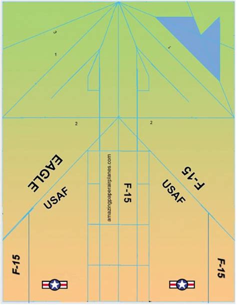 paper airplanes templates f 16 paper airplane templates crafts