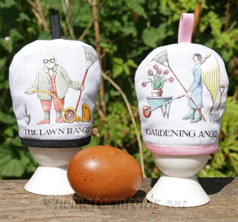 Egg Cosies By Snapdragon Garden by The Garden Egg Cup Cosy Gift Set Home Farm Fowls