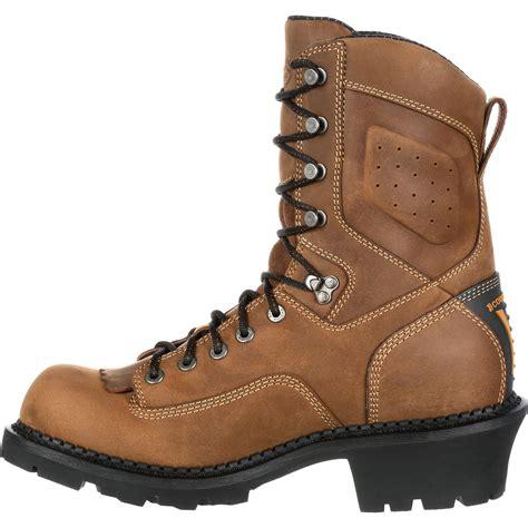 comfort core logger georgia boot comfort core logger waterproof work boots