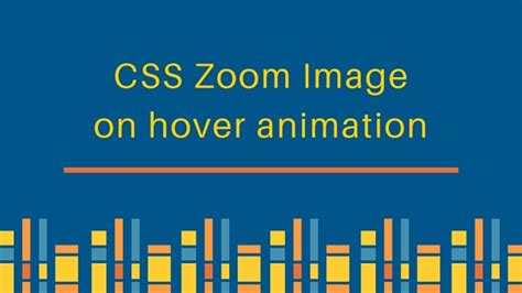 Html Zoom Tutorial | css3 zoom image animation effect on hover journaldev