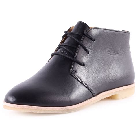 clarks boots womens clarks originals phenia desert womens ankle boots in black