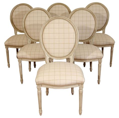 Louis Style Dining Chairs Louis Xvi Style Dining Room Chairs At 1stdibs