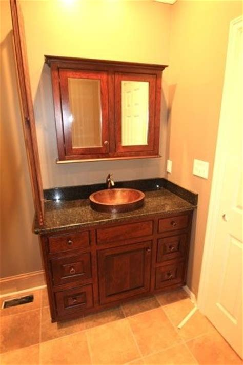 custom made bathroom vanity cabinets hand made bathroom vanity by c n c custom cabinets