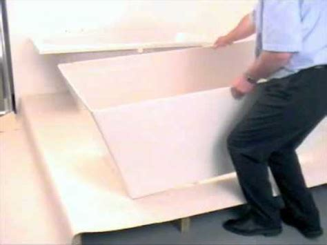 how to assemble install plumb a freestanding bath