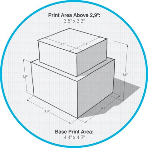 typical printable area printer technical specifications