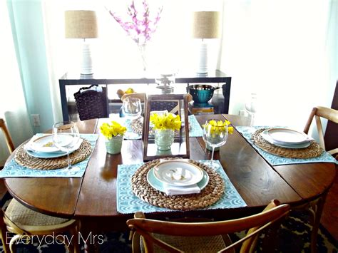 Everyday easter table everyday mrs