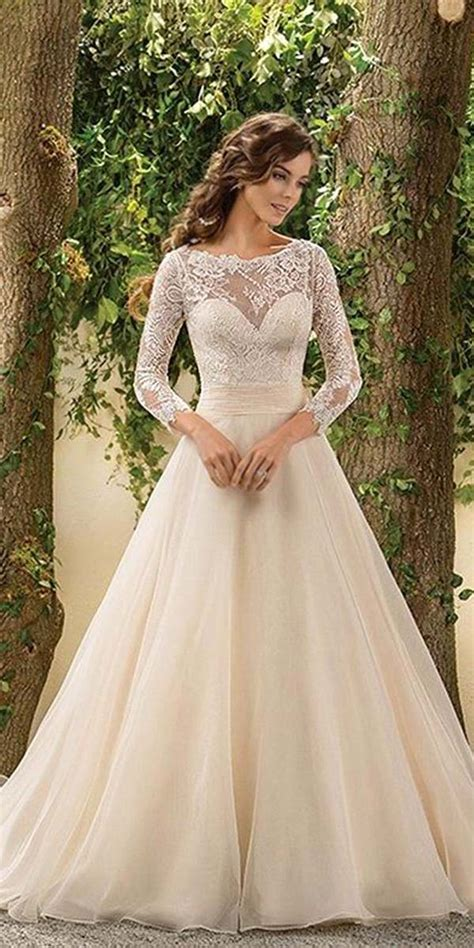 wedding gowns with sleeves trubridal wedding 30 chic sleeve wedding