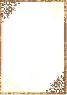 paper border designs free printable stationery borders