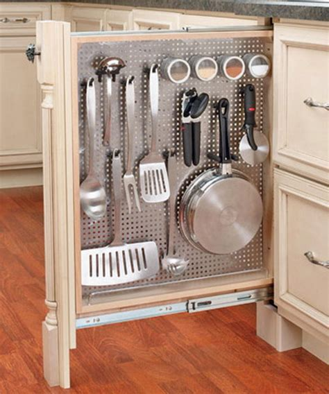 kitchen utensils storage cabinet 67 cool pull out kitchen drawers and shelves shelterness