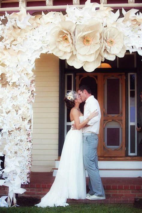 paper flowers  wedding decoration wedding ideas