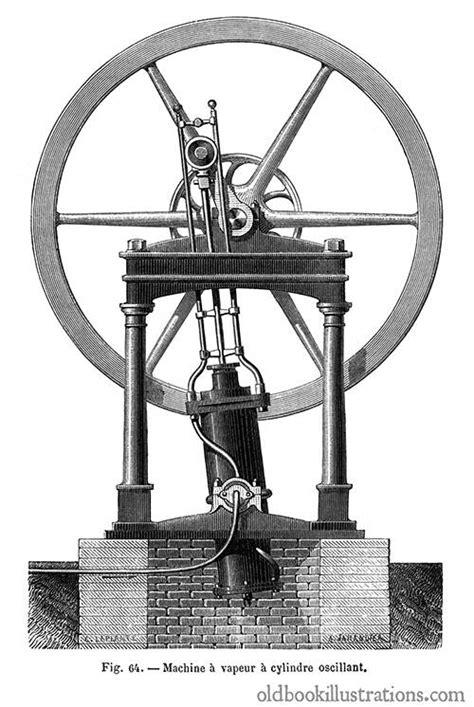 oscillating steam engine diagram oscillating steam engine book illustrations