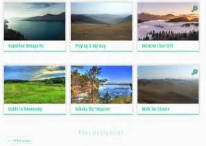 row layout wordpress designing the lists of posts blog archives search in