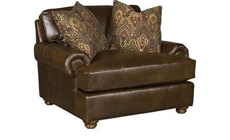 King Hickory Henson Leather Chair 1 2 6001patl