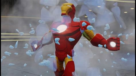 marvel super heroes iron man disney infinity